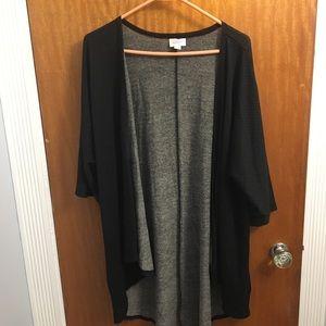 LuLaRoe Sweaters - Lularoe black polka dot Lindsay
